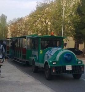 Trenecito campus de la Universidad de Alcalá