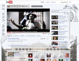 Canal Youtube Universidad de Alcalá